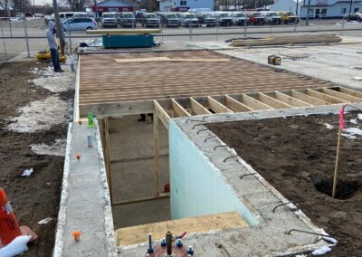 Ultimate Sports Bar Grill - Footings